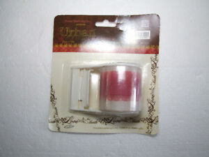 Decorative LOVE pink tape with dispenser NEW