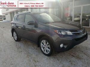 2015 Toyota RAV4 Limited  One-owner, low km local trade!