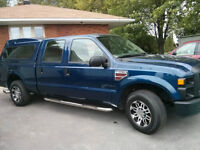 2008 Ford F-250 SUPER DUTY CREW CAB 6.4L turbo DIESEL  43414 KM