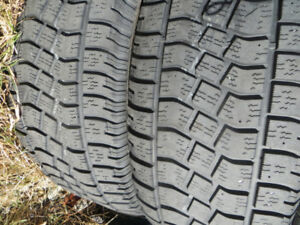 P275/55R20 SEVERE SNOW RATED WINTER TIRES