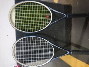Two Wilson Ncode Tennis Rackets for    SALE   !