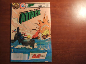 ATTACK All SUB Issue # 26 Feb 1981 Comic Book