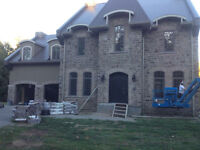 Brick, stone or cinder - mason available indoor/outdoor needs