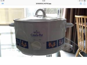 Mijoteuse Crock Pot