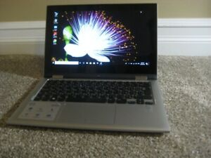 "11.6"" Dell Convertible Touch Screen Laptop, i3, 4GB, 500GB HDD"