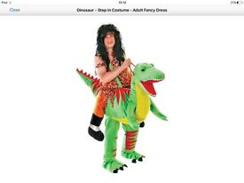 For sale - adult dinosaur step in costume
