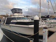 34ft Penquine Exuctive fiberglass flybridge cruiser Rockingham Rockingham Area Preview