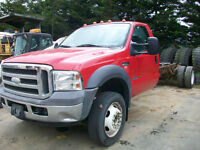 2005 Ford F-550 Cab & Chassis