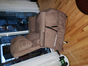 Recliner lift chair, excellent condition,  $650.00