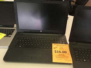 HP 15.6 INCH LAPTOP ~ RENT-TO-OWN ~ FREE SAME DAY DELIVERY