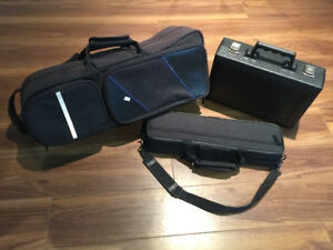 Flute, Trumpet, Clarinet, Band Instrument Cases - FOR SALE