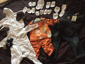 Newborn Boys Bundle. All Brand New from Mothercare, NEXT etc Quick Sale