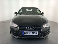 2015 65 AUDI A3 SPORT TDI DIESEL CONVERTIBLE 1 OWNER SERVICE HISTORY FINANCE PX