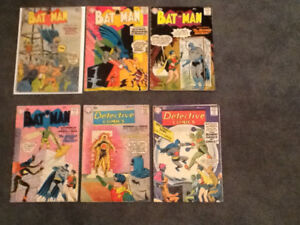 Vintage 1940's/50's/ 60's BATMAN ,FLASH,SUPERMAN .. DC COMICS