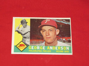 1960 Topps Sparky Anderson card