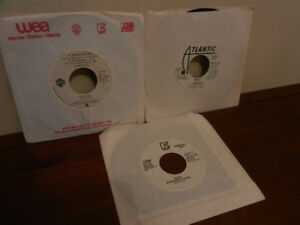Vinyl Records 45 RPM Promos Rock, Queen,Fleetwood Mac etc.