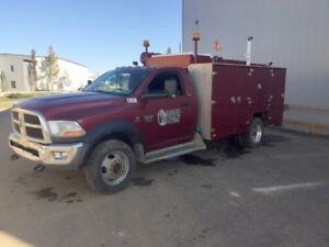 2012 Dodge Ram 5500 Service Mechanic Truck 89,000 kms