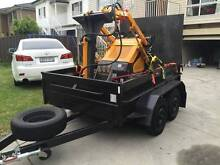 Mini Skid Steer with Digger attachment for HIRE (DIY) Chester Hill Bankstown Area Preview