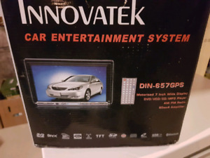 Brand new Car Stereo in Box DVD ipod GPS TV AM FM disc touch scr