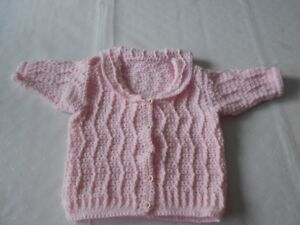 BRAND NEW HAND CROCHETED TODDLER CARDIGAN SWEATERS