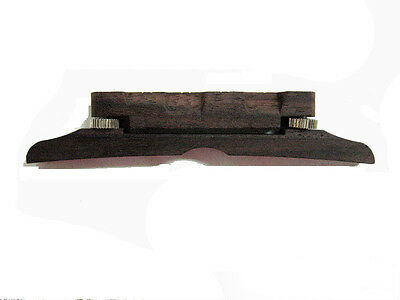 Used, Adjustable F4, F5 Mandolin Bridge,rosewood, MTL-02 for sale  Shipping to Canada