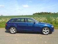 AUDI A4 AVANT 2.0 TDI SE 5DR ESTATE BLUE - 143 BHP - LOW MILEAGE - ECONOMICAL