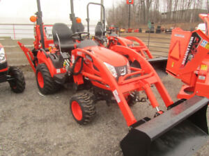 KIOTI CS2210 Sub Compact Tractor Loader Backhoe