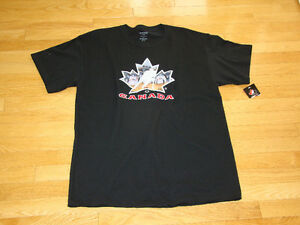 TEAM CANADA HOCKEY MENS T-SHIRT SZ LARGE **NEW WITH TAGS**