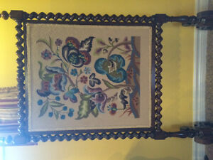 Antique fireplace screen Stratford Kitchener Area image 1