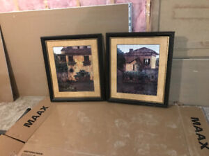 Two large matching Pictures