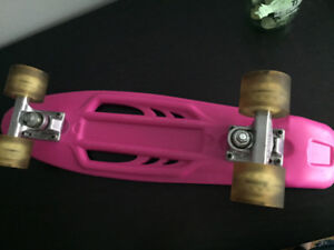 Penny Board (knock off brand but works just as well)