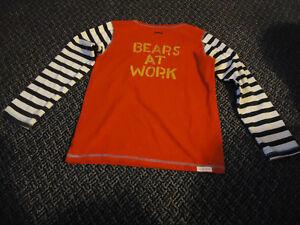 Boys Size 8 ****Hatley**** Bears At Work Long Sleeve T-Shirt Kingston Kingston Area image 3