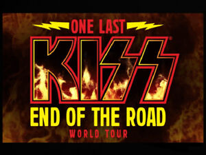 """Kiss Tickets Mar. 20 FLOOR CENTRE """"Bestseats in the House"""""""