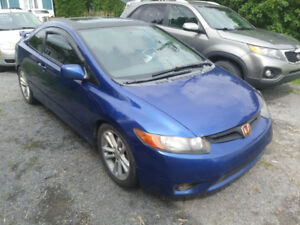 Honda Civic SI 2008 Bleu