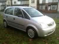 Vauxhall/Opel Meriva 1.6i 16v 2003MY Life