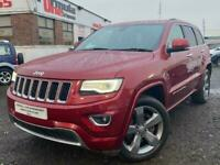 2014 Jeep Grand Cherokee 3.0 V6 CRD OVERLAND 5d 247 BHP Estate Diesel Automatic
