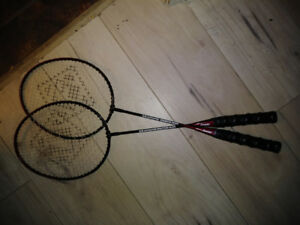 Badminton Rackets - $10