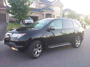 LOWERED 08 Acura MDX DVD/nav,  7 seats,  remote start,  leather