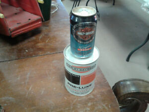 Harley Davidson oil can & beer can