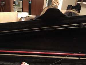European violin with case and carbon bow Peterborough Peterborough Area image 2