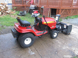 sears rideon  snowblower
