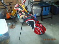 TaylorMade Golf Clubs & Bag