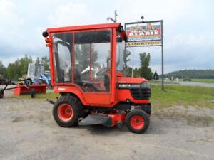 tracteur, kubota, bx, tondeuse, 4x4, souffleur, gazon