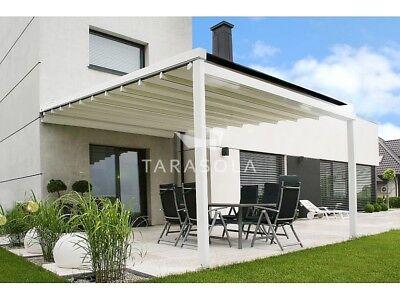 Aluminium-Terrassendach Faltdach mit System mit Plane Wetter- und Sonnenschutz