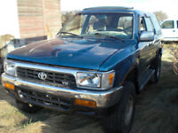 1992 Toyota 5R5 4 Runner for parts