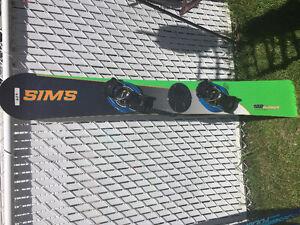 Planche de carve SIMS 162 cm