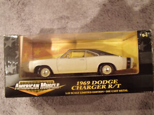 1:18 SCALE DIE-CAST AMERICAN MUSCLE 1969 DODGE CHARGER R/T  - Y3