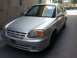 2004 Hyundai Accent hatchback Coupé (2 portes)
