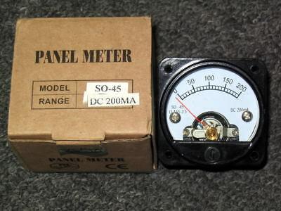 Model So-45 6l6 El34 El156 Kt88 Tube Amplifier 100ma Panel Meter