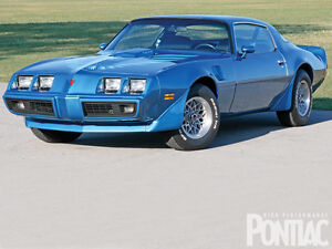 1980 Pontiac Trans Am motor needed